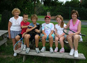 kids tennis group